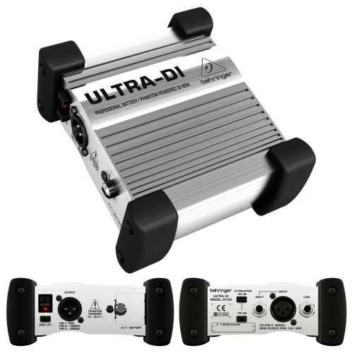 BEHRINGER Ultra DI100 direkt box