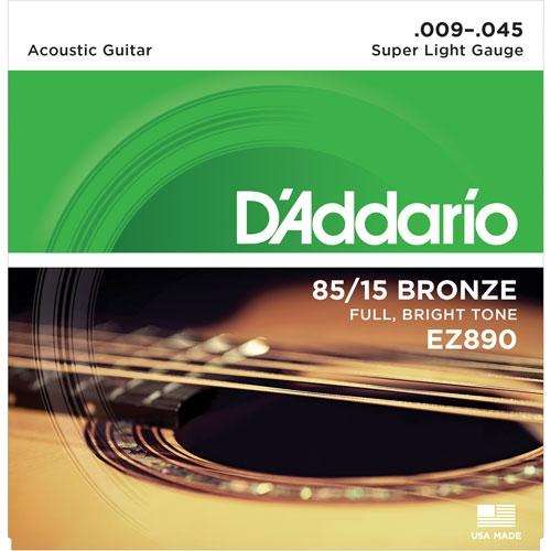 daddario EZ890 9-45 žice za akustičnu gitaru