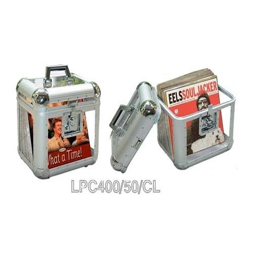 CNB LPC400/50/CL kofer za gramofonske ploče prozirni