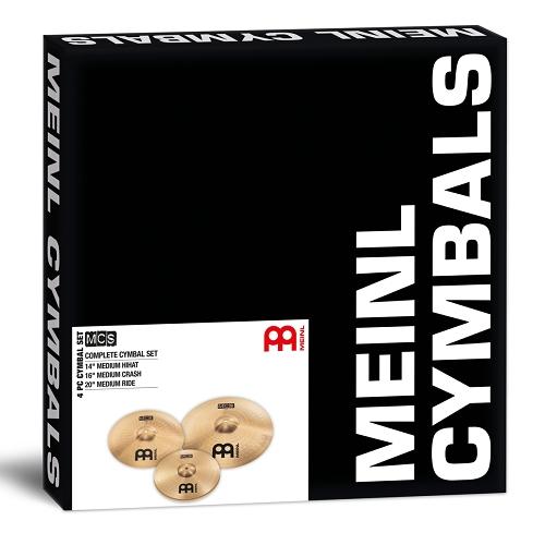 Meinl MCS- set činela 14,16,20