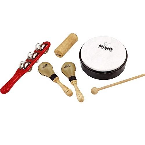 NINO NINOSET1/R/BK/Y set udaralki 5 kom