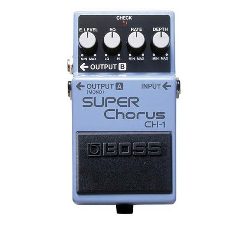 BOSS CH-1 super chorus pedala