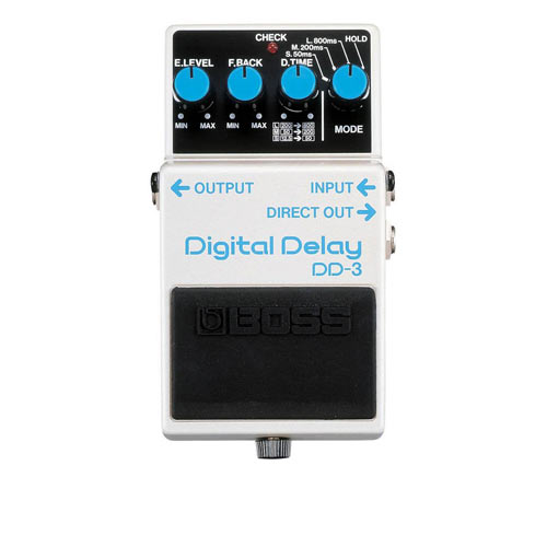 BOSS DD-3 digital delay pedala