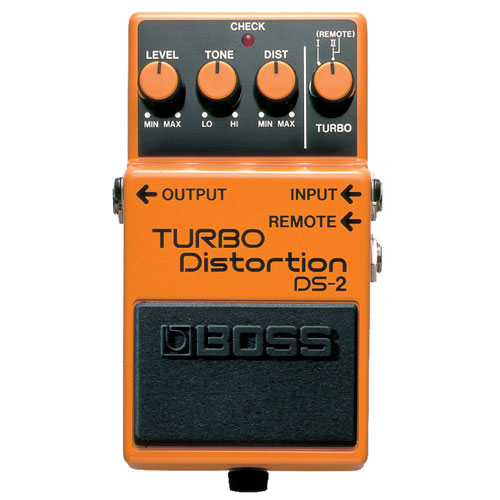 BOSS DS-2 distortion turbo pedala
