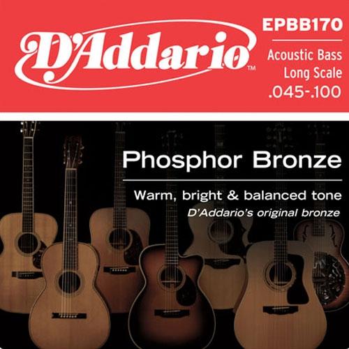 daddario EPBB170 45-100 žice za akustični bas