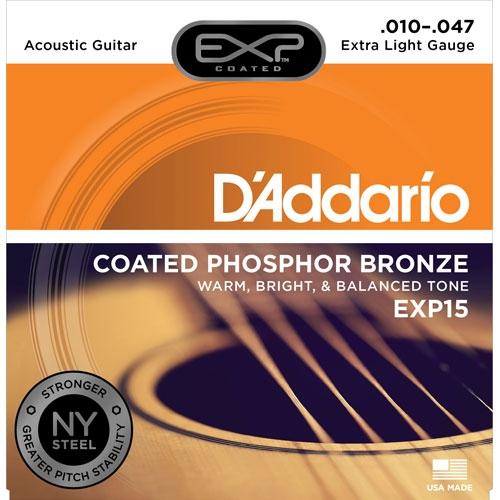 daddario EXP15 10-47 žice za akustičnu gitaru