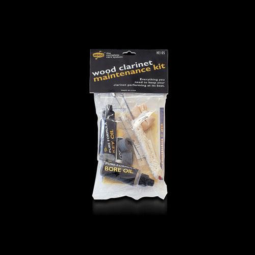 HERCO HE-105 set za čišćenje drvenog klarineta
