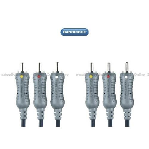 Bandridge   Kabel VL-5305 3xRCA 5m