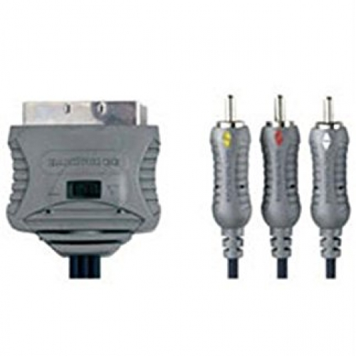 Bandridge   Kabel VL-7544 scart-3RCA dvosmjerni