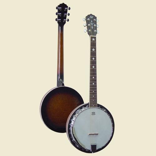 SX Banjo gitara BJ6 + torba