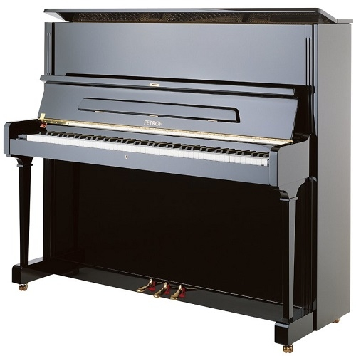 PETROF P125G1 0801 pianino crni visoki sjaj