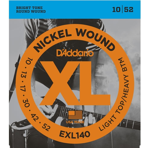 daddario EXL140 10-52 žice za električnu gitaru