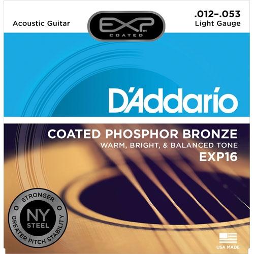 daddario EXP16 12-53 žice za akustičnu gitaru