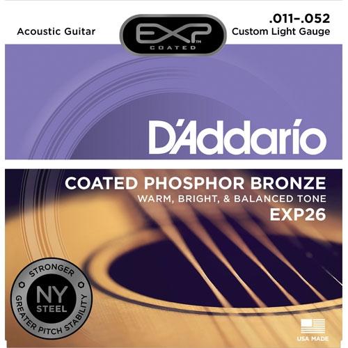 daddario EXP26 11-52 žice za akustičnu gitaru