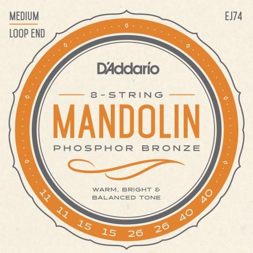 daddario EJ74 11-40 žice za mandolinu