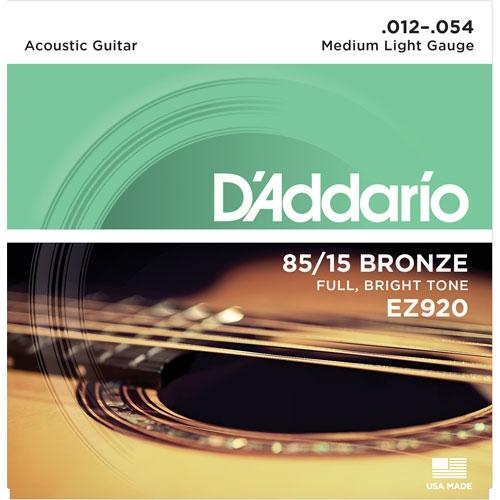 daddario EZ920 12-54 žice za akustičnu gitaru