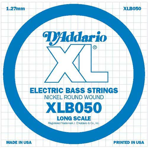 daddario XLB050 žica pojedin za bas