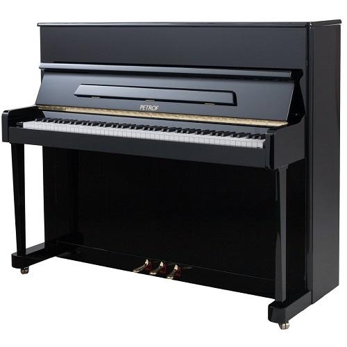 PETROF P118P1 0801 pianino 118cm crni visoki sjaj