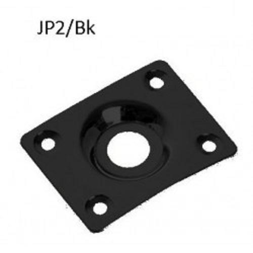 DR Parts JP2/BK oval metal jack plate