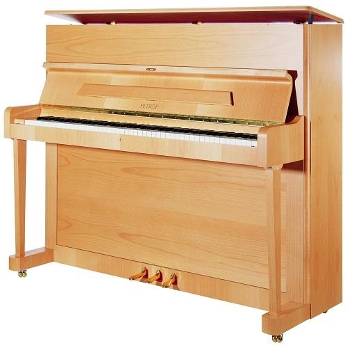 PETROF P118P1 pianino (8107 alder satin)