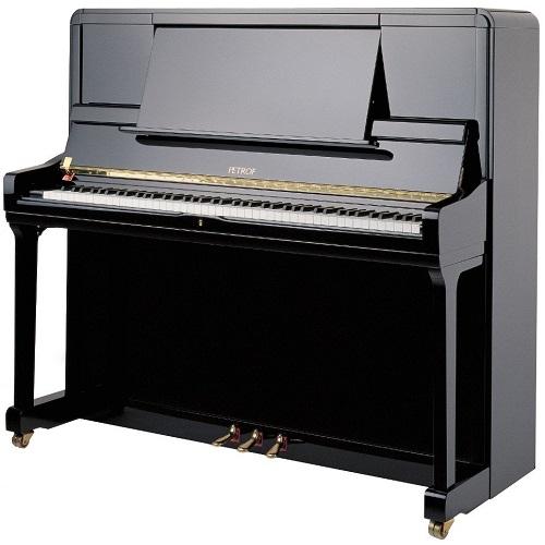 PETROF P135K1 pianino (0801 crni visoki sjaj)