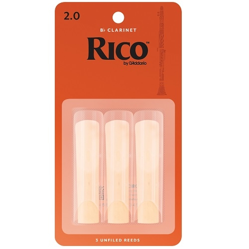 RICO RCA0320 RICO 3pak trska za Bb clarinet 2