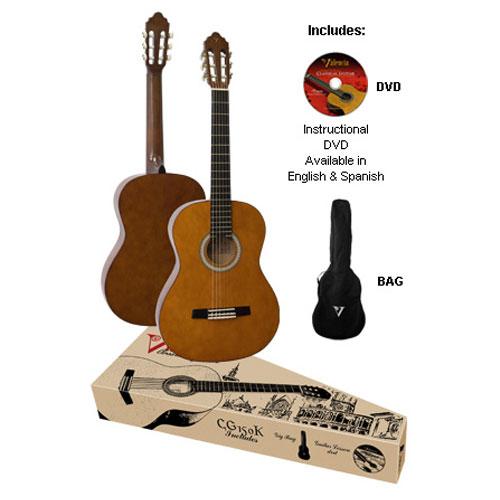 Valencia Klasična gitara set CG150K
