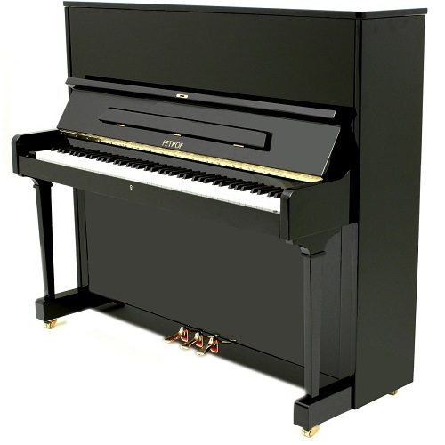 PETROF P125F1 (0801) pianino 125cm crni visoki sjaj