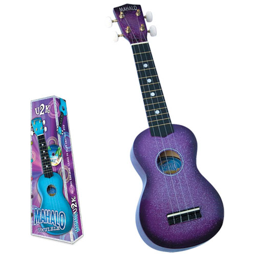 MAHALO U2K/CPP ukulele/hawaii gitara set