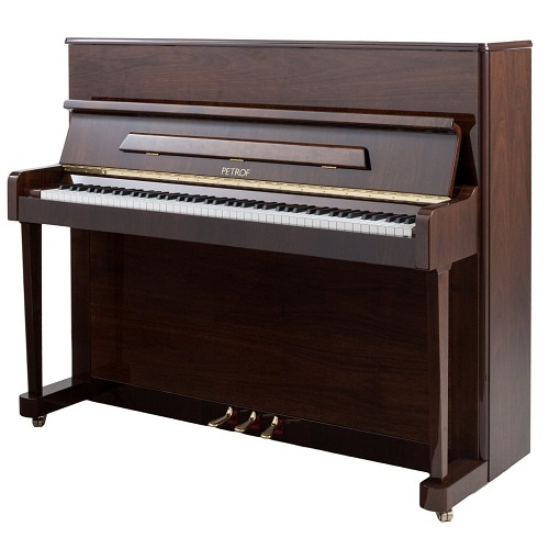 PETROF P118P1 (2251) walnut high polish pianino