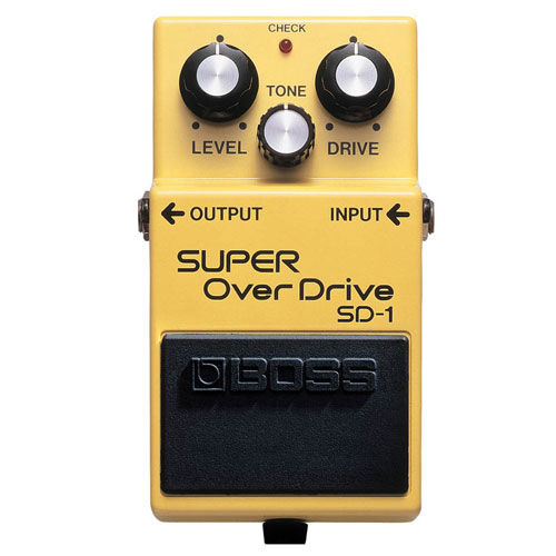 BOSS SD-1 overdrive pedala