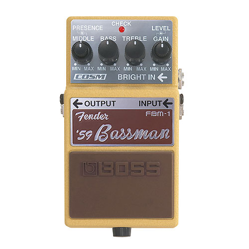 BOSS FBM-1 Fender Bassman pedala