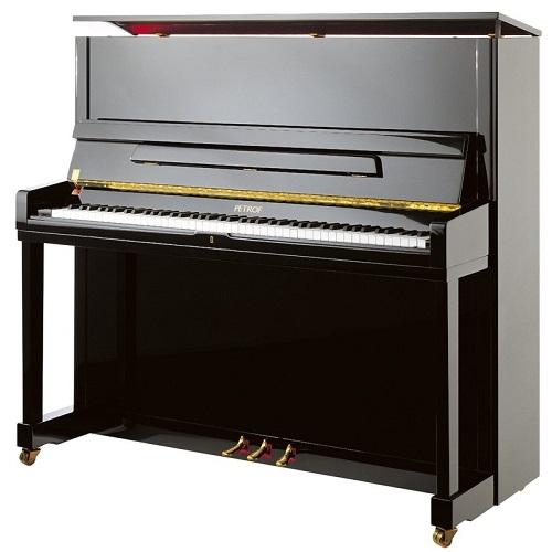 PETROF P131M1 (0801) 131cm pianino crni visoki sjaj