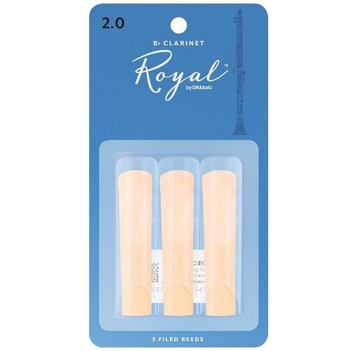 RICO RCB0320 RICO ROYAL 3pak trska za Bb klarinet 2