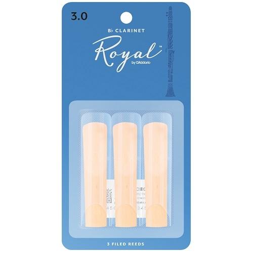 RICO RCB0330 RICO ROYAL 3pak trska za Bb klarinet 3