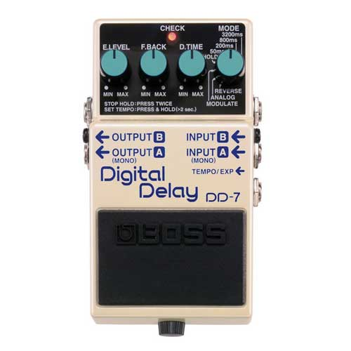 BOSS DD-7 digital delay pedala