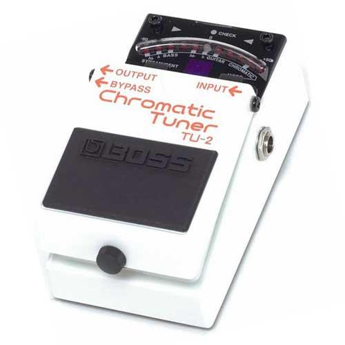 BOSS TU-2 gig tuner pedala