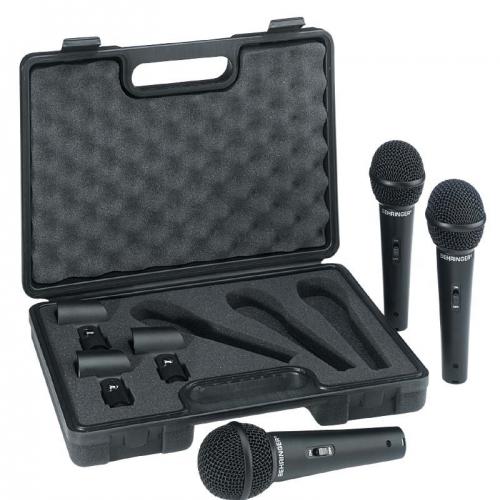 BEHRINGER XM1800S mikrofon set 3pack