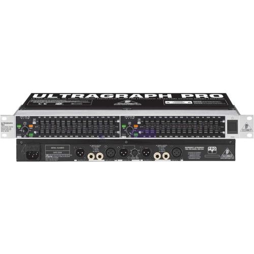 BEHRINGER FBQ1502 equiliser 2x15band