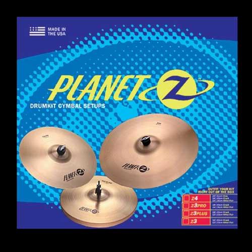 Zildjian Planet-Z PZ1418 Z3PRO 14-18 činele pak