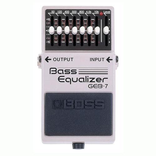 BOSS GEB-7 bass equiliser