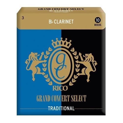 RICO RGC10BCL300 Grand Concert  trska za Bb klarinet 3