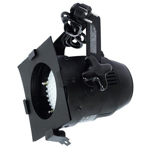 SAR EUROLITE LED PAR-38 RGB Spot (crna boja) 51913600