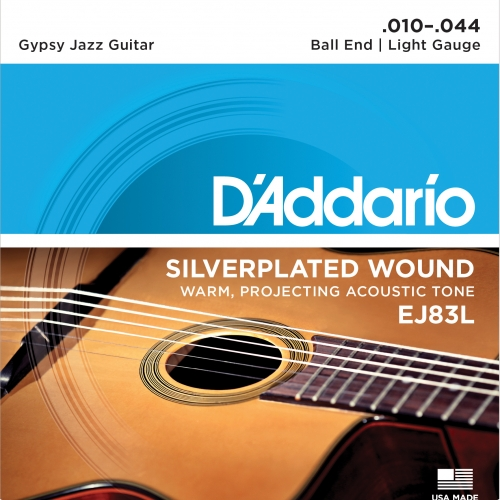 daddario EJ83L 10-44 Gypsy Jazz Light žice