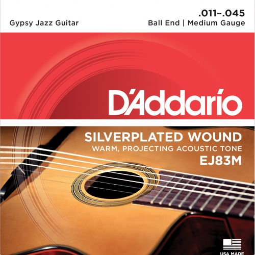 daddario EJ83M 11-45 Gypsy Jazz Medium žice