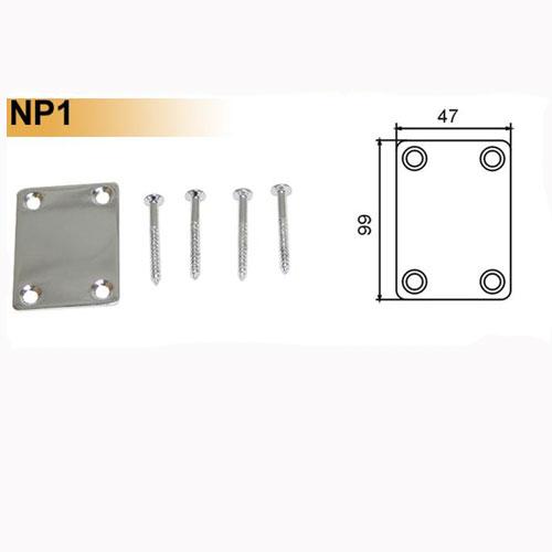 DR Parts NP1/CR neckplate chrome