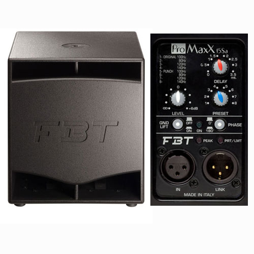 FBT ProMaxX 15SA 1200w aktivni sub bas zvučna kutija