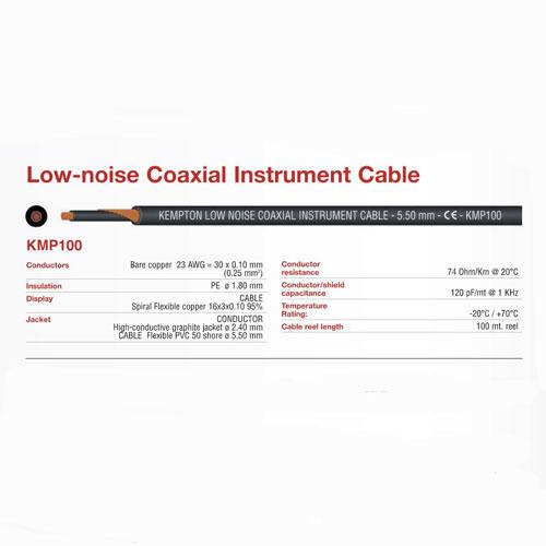 FBT KMP100BK instrument kabel