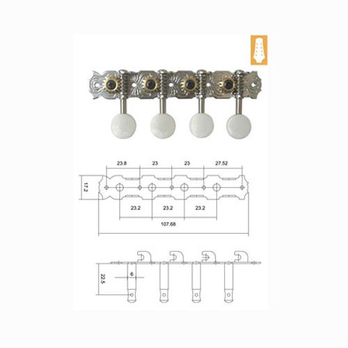 DR Parts MMH0555/CR ključevi za mandolinu