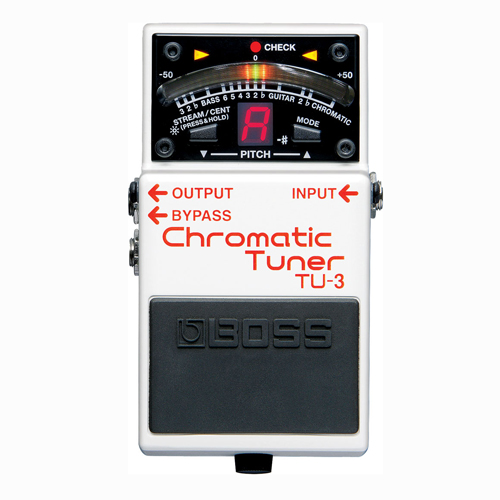 BOSS TU-3 chromatic tuner pedala